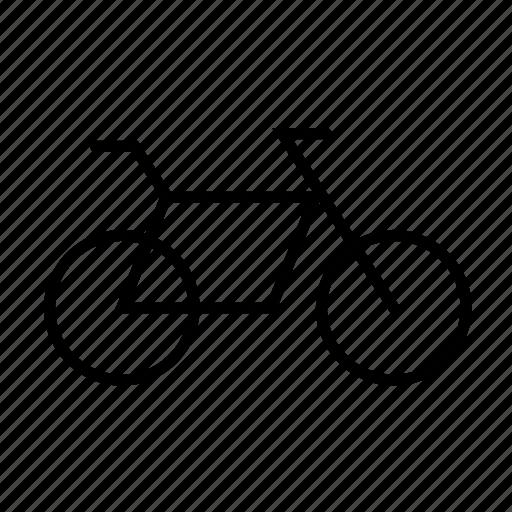 bicycle, bike, mountain bike, racing, sport icon