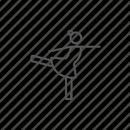 champion, dancer, female, figure, skater, skating, training icon