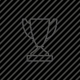 achievement, celebration, champ, game, leader, reward, trophy icon