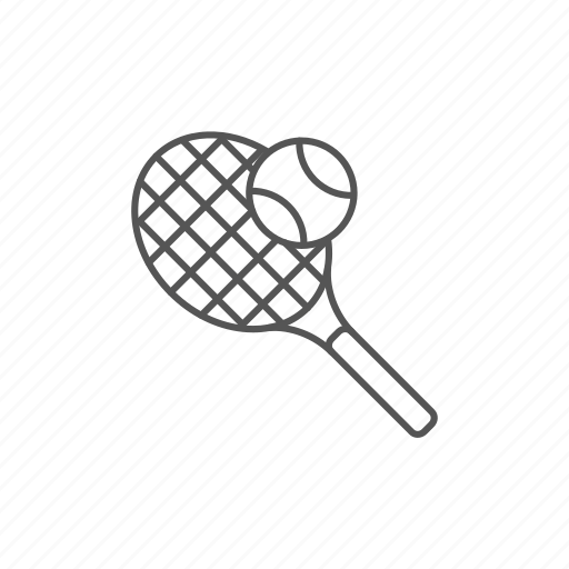 action, ball, bounce, outactivity, racket, tennis, tournament icon
