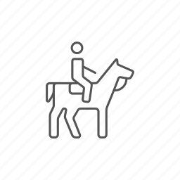 athlete, competition, horse, horseman, out, race, riding icon