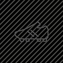 athletic, boot, football, footwear, game, uniform icon