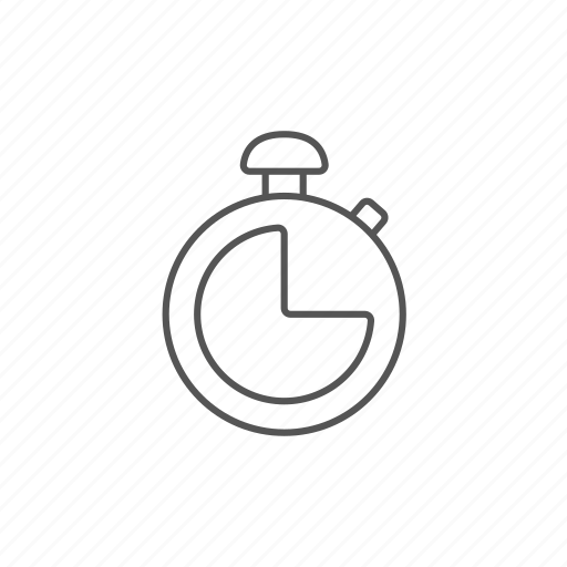 chronometer, counting, fitness, speed, stopwatch icon