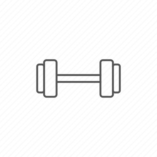 athletic, dumbbell, fit, fitness, healthy, iron, strength icon