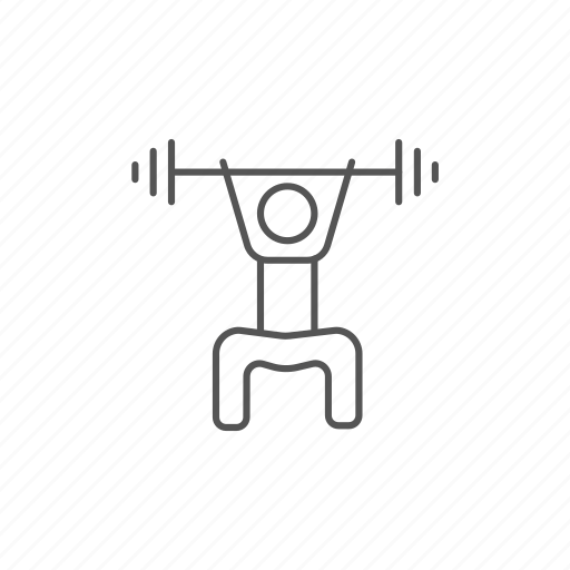barbell, exercising, gym, health, healthcare, power, weight icon