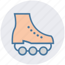 skating, roller skating, ice roller, sportive boot, sports, skates, inline skates