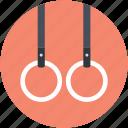 rings crossfit, flying rings, still rings, gymnastic rings, steady rings
