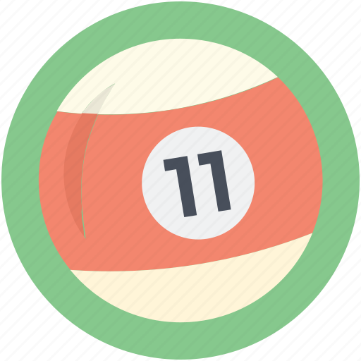 billiard, billiard ball, cue sports, pool ball, snooker ball icon