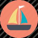boat, gaff cutter, sailboat, sailing ship, yacht