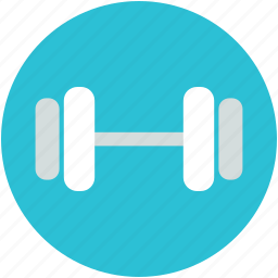barbell, dumbbells, fitness, halteres, weight lifting icon
