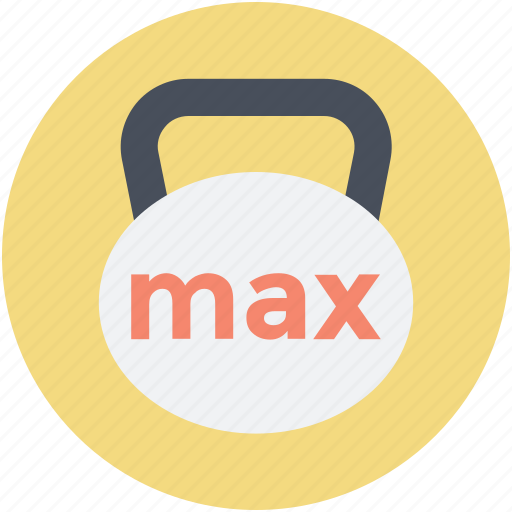 exercise, fitness, weight ball, weight tool, weightlifting icon
