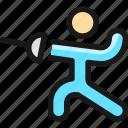martial, arts, fencing