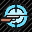 shooting, rifle, aim