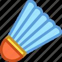 badminton, badminton birdie, feather shuttlecock, shuttlecock, sports
