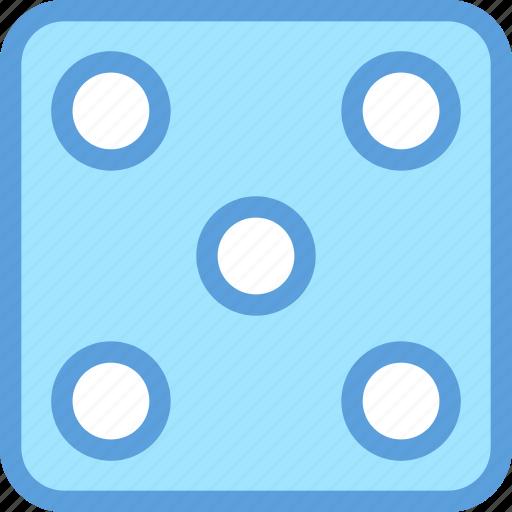 casino, dice, dice cube, gambling, luck game icon