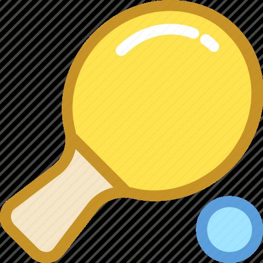 sports, table tennis, tennis bat, tennis equipment, tennis racket icon