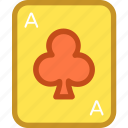 casino, gambling, playing card, poker card, spade card icon