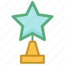 achievement, award, star award, success, winning cup icon
