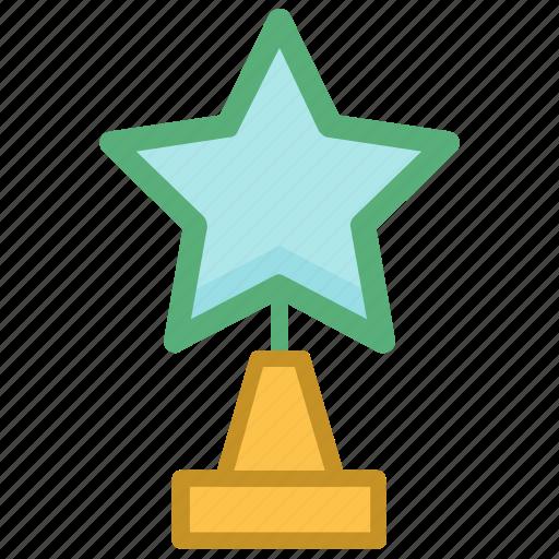 achievement, award, star award, success, winning cup icon