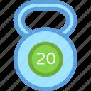 exercise, fitness, kettlebell, kg weight, kilogram