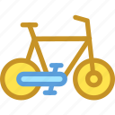 bicycle, bike, biking, cycling, cyclist icon