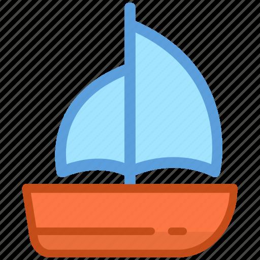 boat, sailboat, ship, vessel, yacht icon