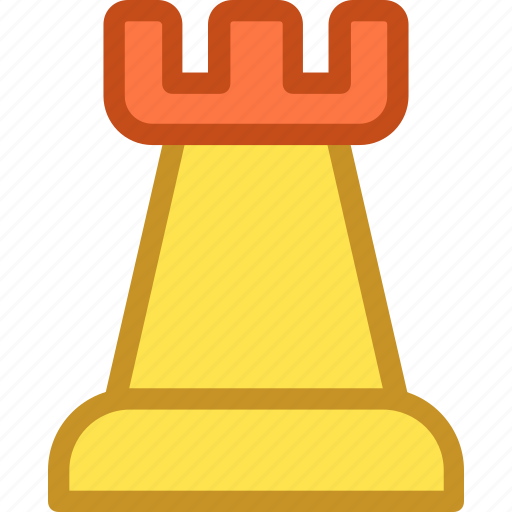 board game, chess figure, chess game, chess piece, rook icon