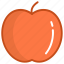 apple, diet, fruit, healthy diet, natural diet icon