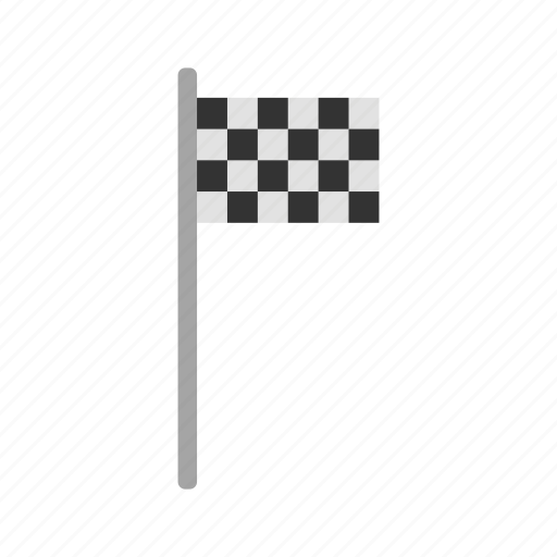 equipment, flag, game, match, play, race, sport icon