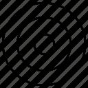 dart, focus, target, aim icon