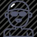 activity, contest, male, pool, swimer icon
