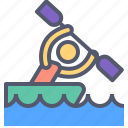 activity, canoe, contest, outdoor, relax icon