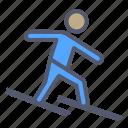 activity, outdoor, ski, snow, winter icon