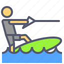 activity, boat, extreme, outdoor, surf icon