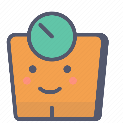 control, fitness, weighing, weight icon