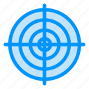 circle, goal, point, strategy, target icon