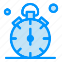 quarter, stop, time, timer, watch icon