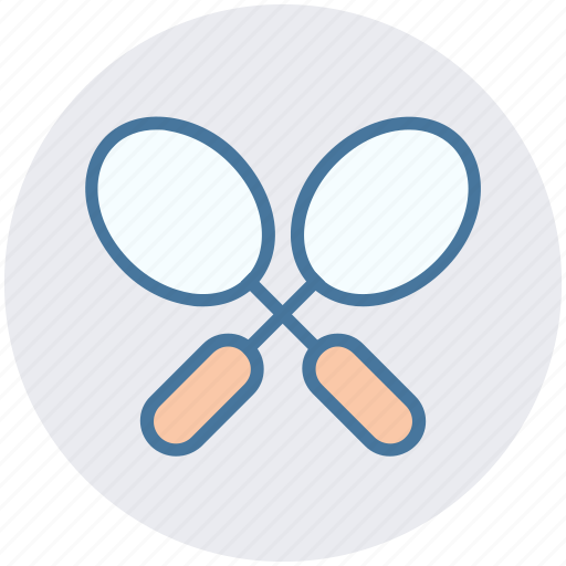 athletics, game, play, rackets, sports, tennis, tennis rackets icon
