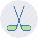 hockey, olympic, puck, sport, sports, sticks icon
