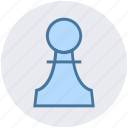 bet, casino, gambling, gaming, luck, pawn icon