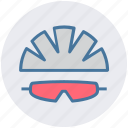 bicycle, cap, cycling, equipment, glasses, hat, helmet