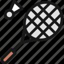 badminton, shuttlecock, racquet