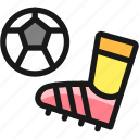 soccer, kick, ball