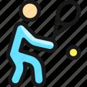 tennis, backhand