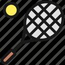 tennis, racquet