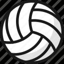 volleyball, ball