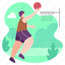 basketball, sport, game, play, ball, sports