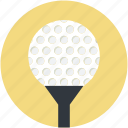 ball tee, golf ball on, golf ball pin, golf tee, on tee icon