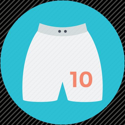 briefs, shorts, skivvies, swim shorts, undergarments icon