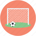 football goal, football goal post, football net, handball net, soccer net icon
